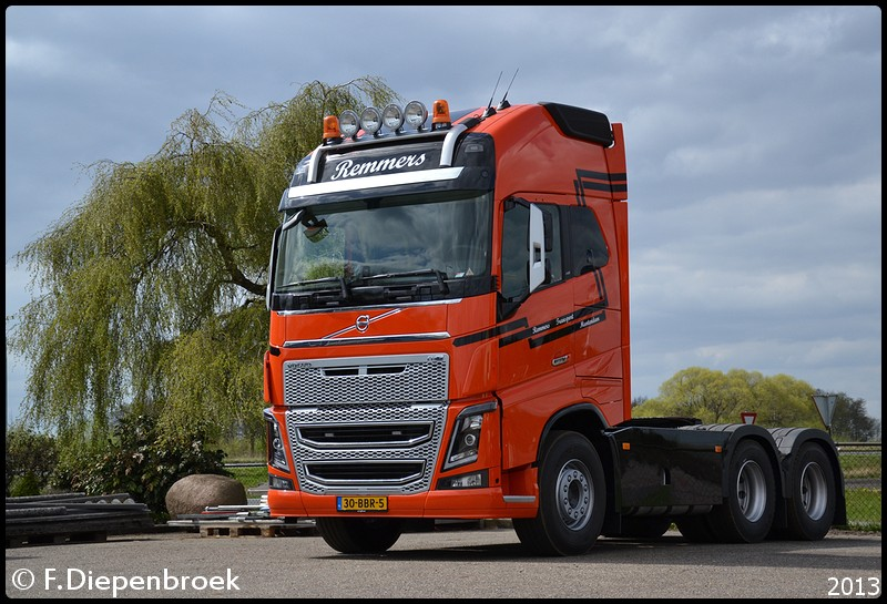 30-BBR-5 Volvo FH16 Remmers-BorderMaker - 2013
