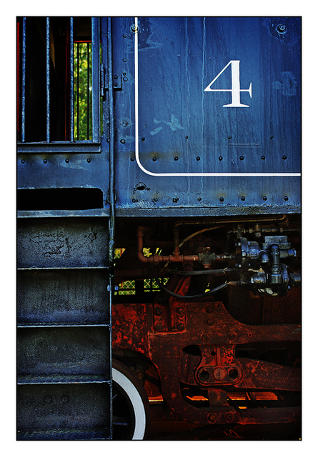 Number 4 Train Vancouver Island