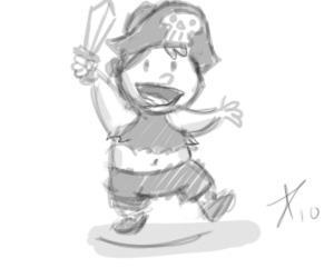 pirate kid -