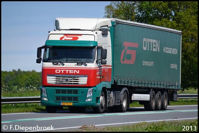 BZ-PV-77 Volvo FH Otten-BorderMaker - Rijdende auto's
