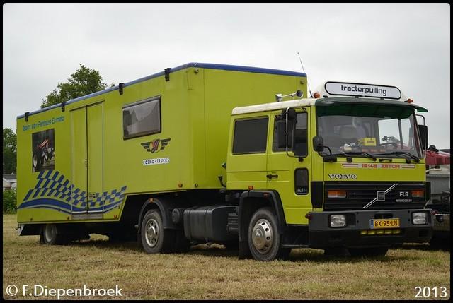 BX-95-LN Volvo FL6 Tracktorpulling-BorderMaker 2013