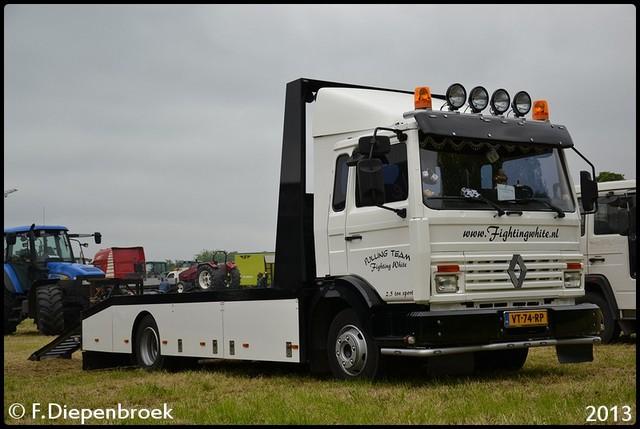 VT-74-RP Renault S160-09B 3-BorderMaker Truckpulling Hoogeveen
