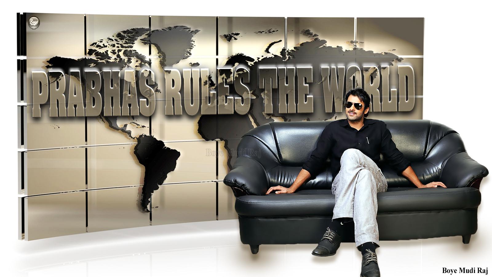 Boye Mudi Raj Hd Wallapapers 4 Photos: Prabhas Rules The World Design By Boye