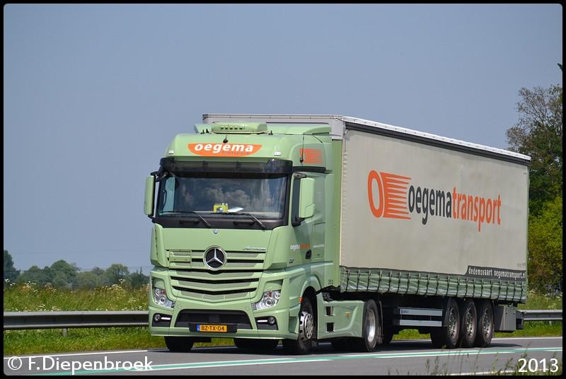 BZ-TX-04 Oegema De Vaart-BorderMaker - Rijdende auto's