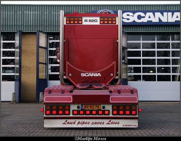 Edwin Kluft Scania R620 Edwin Kluft Scania R620
