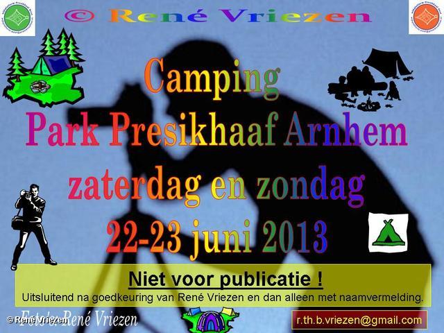 R.Th.B.Vriezen 2013 06 22 0001 Camping Park Presikhaaf zaterdag 22 en zondag 23 juni 2013