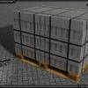 Pallet Kalkstein 16 - TSL™ BRICKS Transport
