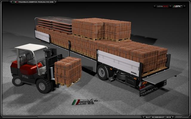KOGEL Cargo Soletta TSL™ BRICKS Transport