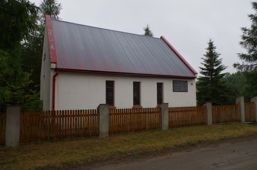 Okoniny, Kaplica Sw.Huberta -