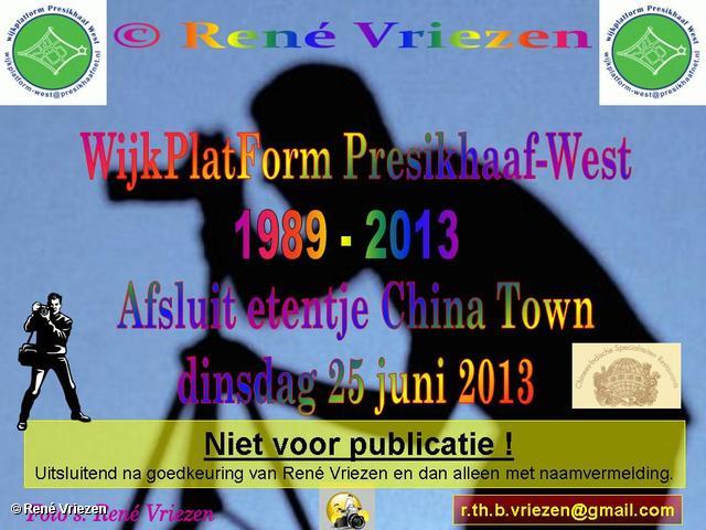 R.Th.B.Vriezen 2013 06 25 0001 WijkPlatForm Presikhaaf-west 1989-2013 Afsluit etentje China Town dinsdag 25 juni 2013