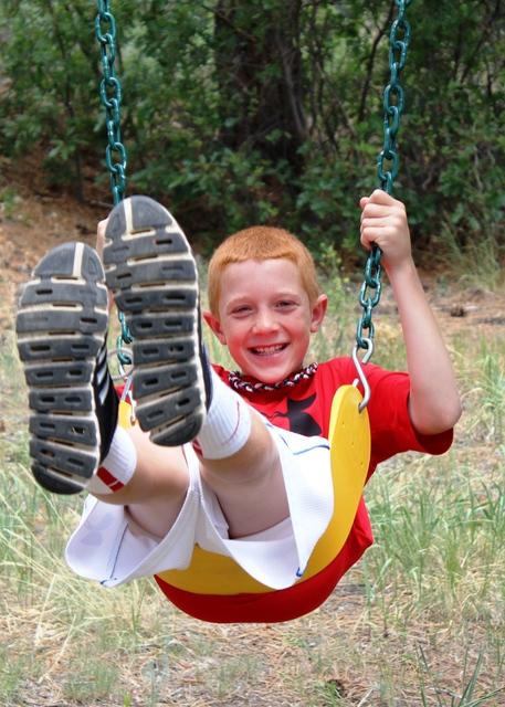 2013-06-24 (Hudson Swinging) Colorado - June of 2013