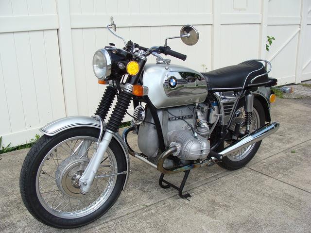 4006296 '73 R75-5 LWB, Silver 001 SOLD.....1973 BMW R75/5 LWB, Silver