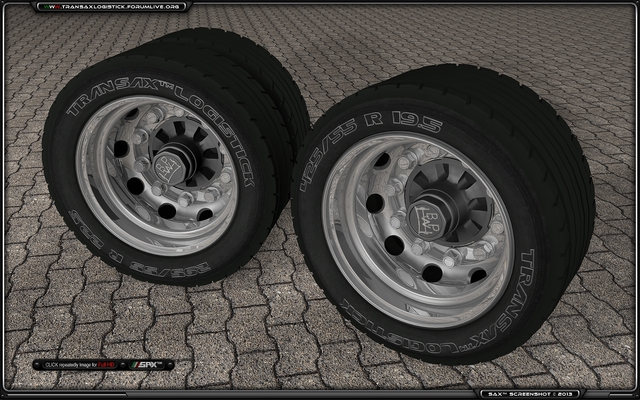 Sax™ Wheel Rear Single+Double TSL™ Parking