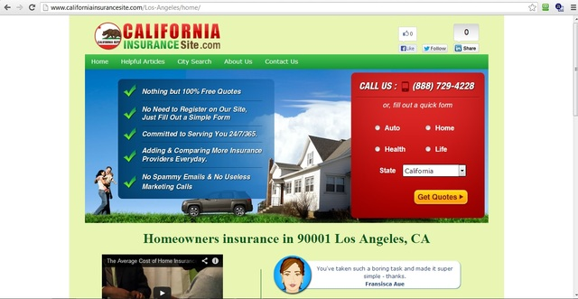 Ordering Property owner's Protection In various Si home insurance los angeles