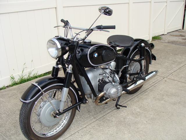 1810737 '67 R60-2 Black, Solo Seat. 001 SOLD.....1967 BMW R60/2, Black. COMPLETE Mechanical and Cosmetic Restoration by Re-Psycle, BMW Parts.