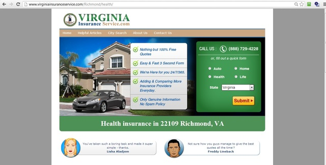 Health coverage Guidance In order to create The si health insurance richmond va
