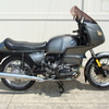 SOLD....1981 BMW R100RS, Grey. 56,000 Miles. Fresh 10K Service. Koni shocks, Brown Sidestand, tall tint windshield, braided stainless front brake lines.