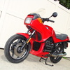 1988 K75S #0151763 Red 001b - SOLD....1988 BMW K75S #0151...