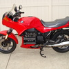 SOLD....1988 BMW K75S #0151763, Red. Fresh BMW Factory Major 10K Service. New fuel pump, Rebuilt forks, Transmission repair / reseal, Koni rear shock, Saddlebags. 59,500 Miles.