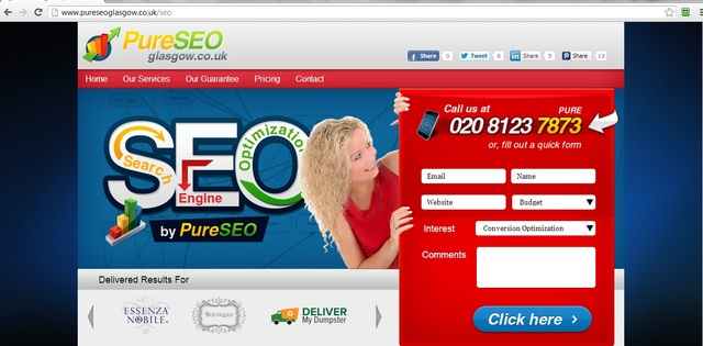 seo services in glasgow search engine optimisation glasgow