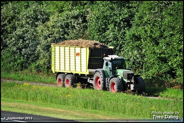 Traktor met silowagen Traktoren  2013