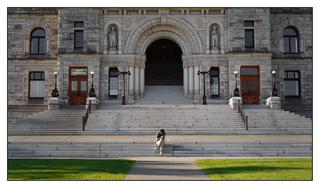 Parliament Steps Vancouver Island
