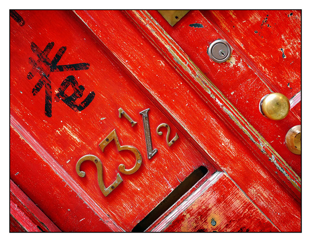 Fan Tan Alley Door Vancouver Island