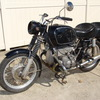 P-2900674. 1970 BMW R50/5, Black Project bike. Papers claim 8,000 Miles.