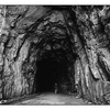 Fraser Canyon Tunnel - Black & White and Sepia