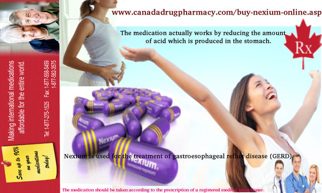 Where can i buy nexium online? Canadian and International Prescription Service!