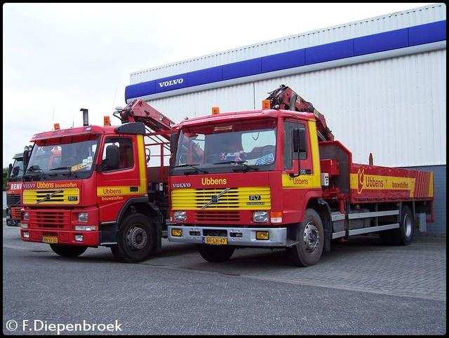 BH-VV-32 BF-LN-47 Volvo FM FL 7 Ubbens-BorderMaker Ubbens