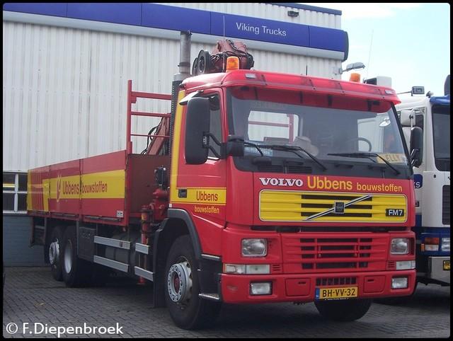 BH-VV-32 Volvo FM7 Ubbens Bouwstoffen-BorderMaker Ubbens