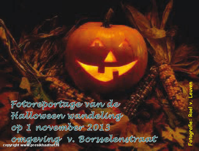 halloweenwandeling Halloween 2013 v. Borsselenstr e.o.