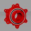 pan hub+bearing - BDD mount