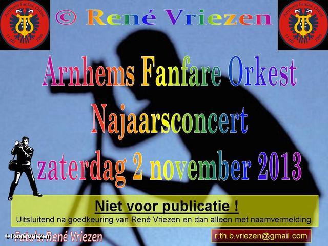R.Th.B.Vriezen 2013 11 02 0000 Arnhems Fanfare Orkest Jaarconcert K13 Velp zaterdag 2 november 2013