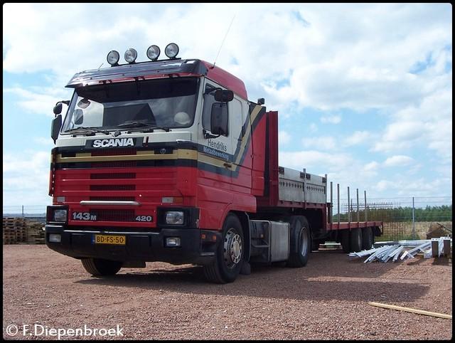 BD-FS-50 Scania 143M 420 Hendriks Metaalbewerking- oude foto's