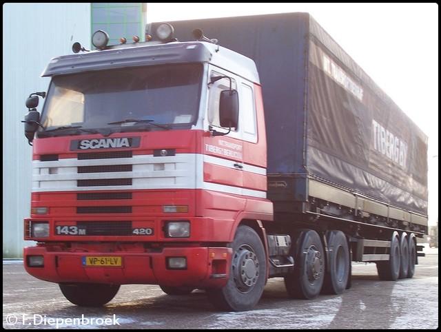 VP-61-LV Scania 143m 420 Tiberg2-BorderMaker oude foto's