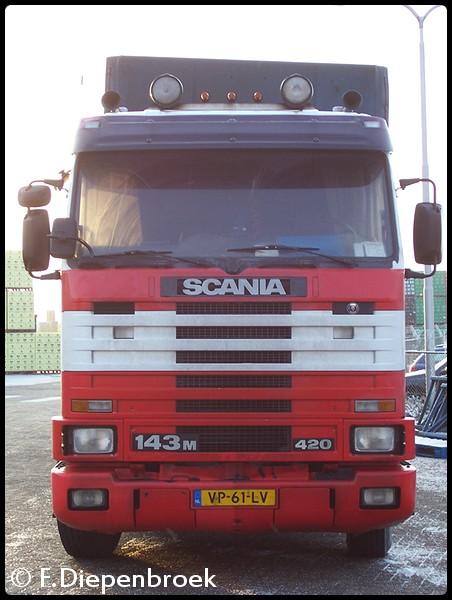 VP-61-LV Scania 143m 420 Tiberg-BorderMaker oude foto's