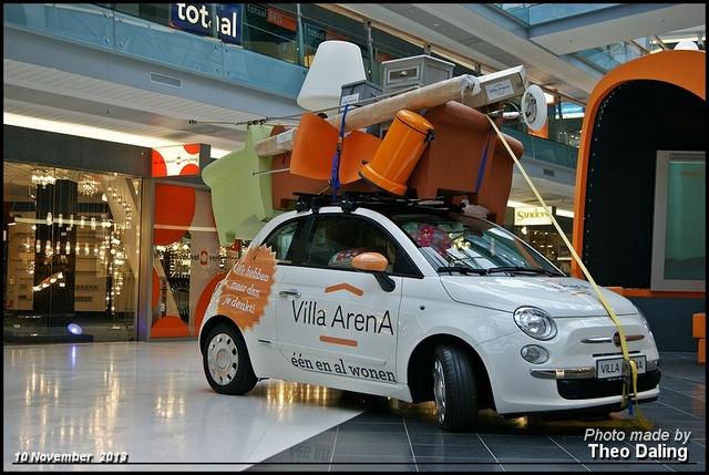 Fiat 500  Villa Arena woonmail - Amsterdam Rommeltjes 2013