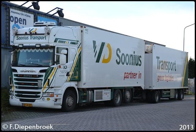 BZ-LN-89 Scania R500 Soonis van Dongen-BorderMaker 2013