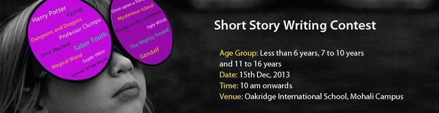 Short Story Contest Mohali Short Story Contest Mohali