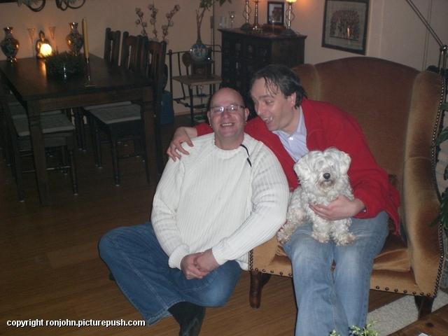 Bas op bezoek 07-02-09 02 In huis 2009