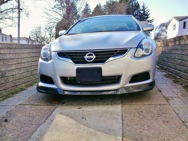 Nissan Altima front lip spoiler Carbon Creations 2 Picture Box