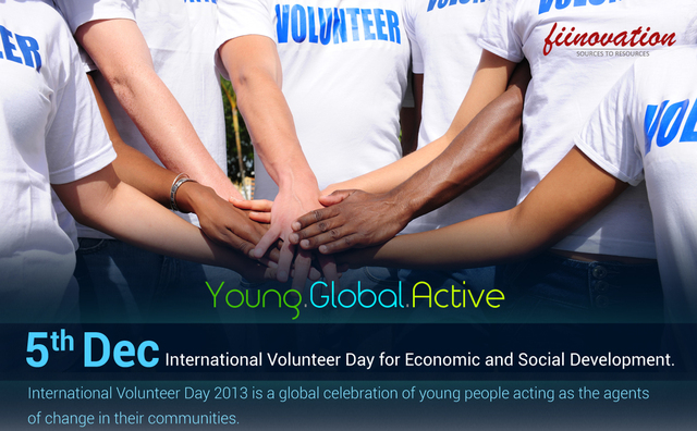 Fiinovation - International Volunteer day 2013 Picture Box
