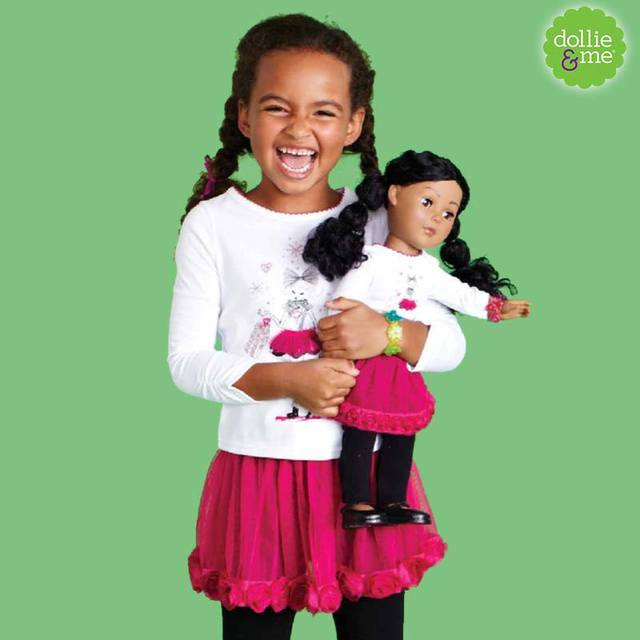 Dollie & Me Matching Dresses for Little Girls Matching Girl and Doll Clothes