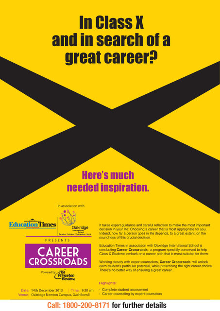 IBDP Career Cross Roads - Assessment and Counselling