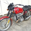 "p-4920037 '76 R60/6, Red. Non-Running ""Project Bike"""