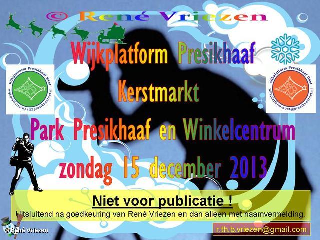 R.Th.B.Vriezen 2013 12 15 0001 Wijkplatform Presikhaaf Kerstmarkt Park Presikhaaf en Winkelcentrum zondag 15 december 2013