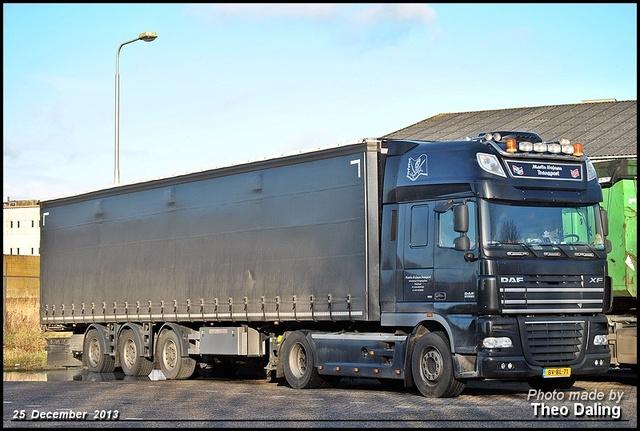 Hofman Transport, Martijn - Appingedam  BV-BL-71 Daf