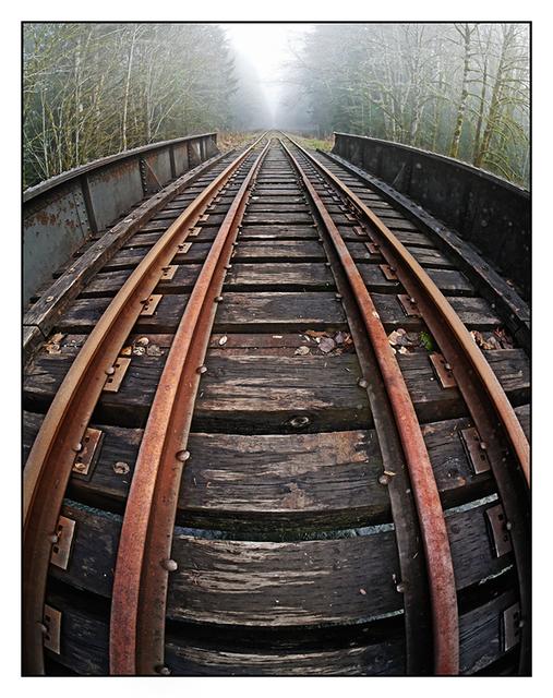 Vanishing Line Vancouver Island
